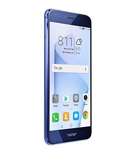 Huawei Honor 8 Dual Camera Unlocked Phone 64GB - Sapphire Blue - GSM - US Warranty