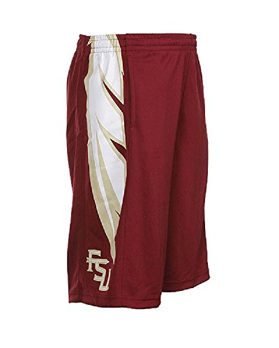 Nike Florida State Seminoles FSU Youth Athletic Training Basketball Shorts Garnet/Gold Size 6