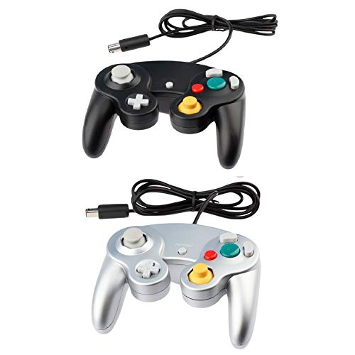 2 for Gamecube Controller (Black & Silver)