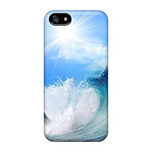 Perfect Playing Dolphin Animals Case Cover Skin For Iphone 5/5s Phone Case
