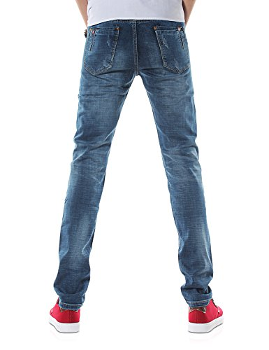 Recto Vaqueros amp;Hunter Demon 817 Straight Dh8309 Pantalones X Hombre Jeans Azul Series WHWq0wYC