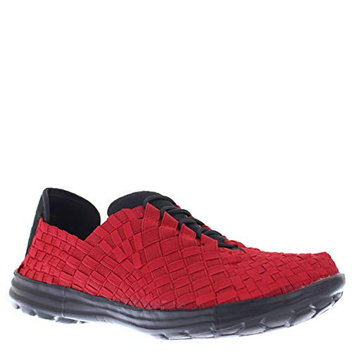 Bernie Mev Victoria Casual Sneaker Lace Up Shoe - Red - Womens - 37