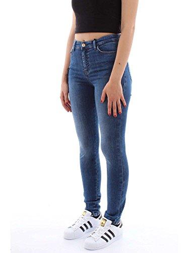 Jeans W83a46 denim Guess d38n0 medio 1981 Donna Junb pqnzFd
