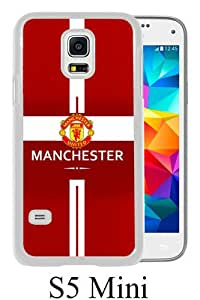 Newest Samsung Galaxy S5 Mini Case ,Manchester United 2 White Samsung Galaxy S5 Mini Screen Phone Case Popular Fashion And Durable Designed