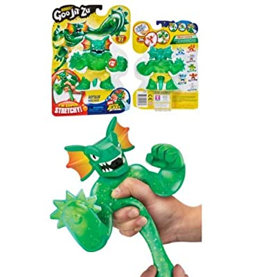 MSW Heroes of Goo JIT Zu Raptaur, Series 2 Blast Attack (Bonus: Blazing LED Spinner): Toys & Games