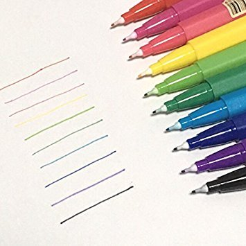 MUJI Aqueous color twin pens 6corners
