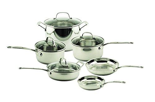 BergHOFF Earthchef Premium Copper-Clad 10-Piece Cookware Set