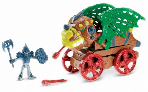 (Fisher-Price Imaginext Dragon Wagon )