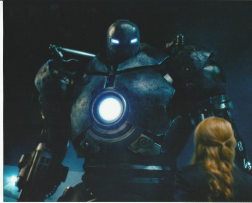 (Iron Man Jeff Bridges in Iron Monger Suit Gwyneth Paltrow Pepper Potts 8 x 10 Photo)