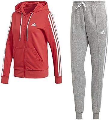 adidas W TS Co Energiz Chándal, Mujer, Glory Red/Medium Grey ...