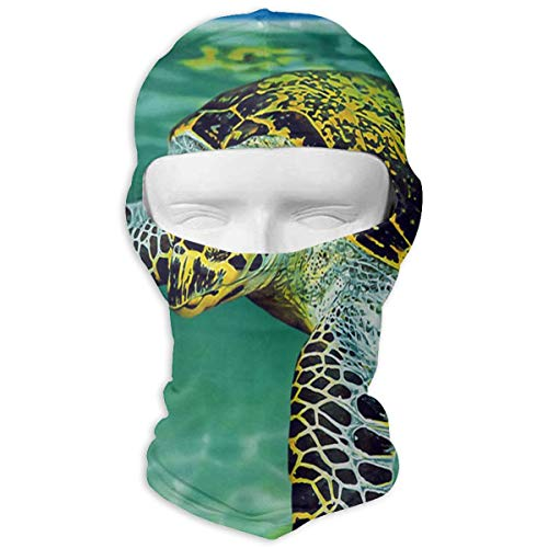 YIXKC Balaclava Turtle Swimming Customized Full Face Masks UV Protection for Women Motorcycling & Winter Sports ()