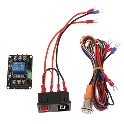 Flameer 3D Printer Power Monitoring Module Effectively Solve the Problem of Printing Failures Caused by Accidental Power Failure, Accidental Printing