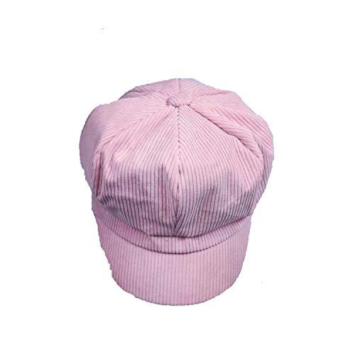 (Chibi-store-hat Cap Beret Women Vintage Beret Painter Winter Men Octagonal Caps Bone Male New)