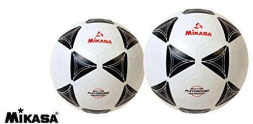 Mikasa Black and White Rubber Soccer Ball (5)