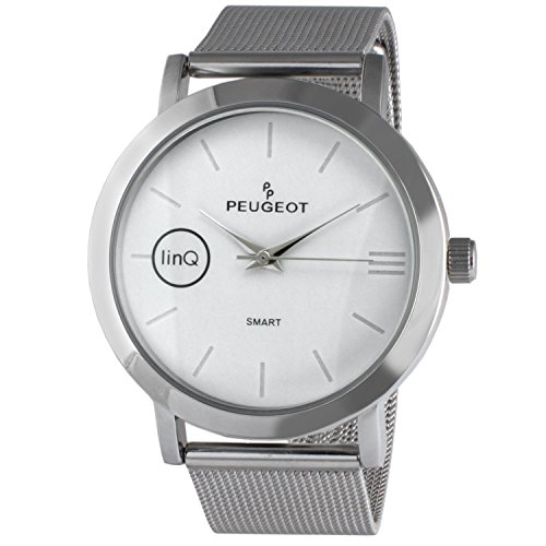 peugeot-linq-stainless-steel-mesh-bluetooth-smart-connected-to-mobile-phone-watch