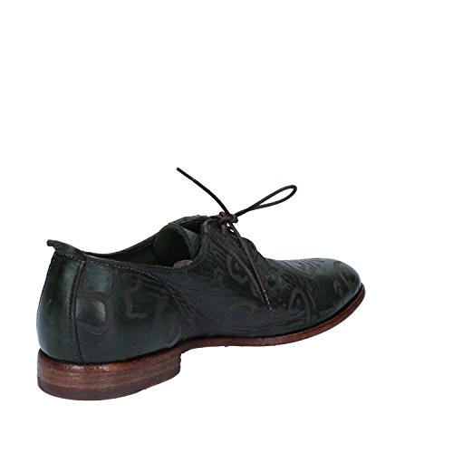 Cuir Vert Élégantes Moma Femme Chaussures vm8n0ONw