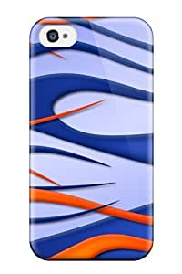 Defender Case For Iphone 4/4s, Flames Artistic Abstract Artistic Pattern