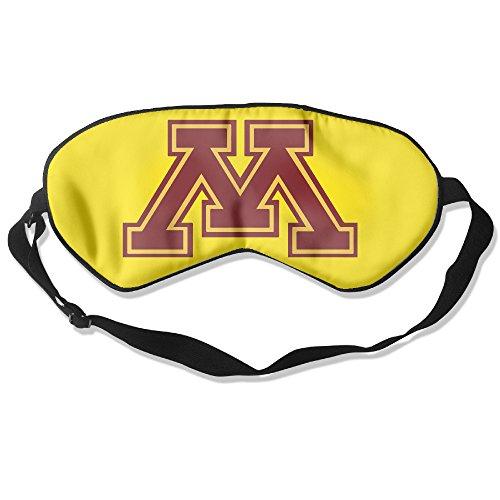 [Minnesota Golden Gophers Logo Sleeping Masks Cover Shade Blindfold] (1980s Tennis Costume)