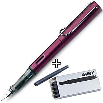 Amazon.com: Lamy AL-star – pluma estilográfica (punta fina ...