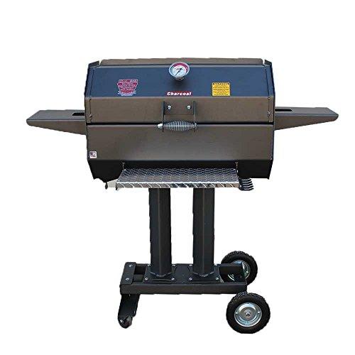 R&V WORKS SCG30C 30 Inches Smokin' Cajun Charcoal Stainless Steel Grill (Stainless Charcoal Steel Grill Cajun)