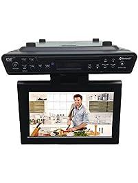 ONN Under Counter Bluetooth Kitchen TV/DVD.