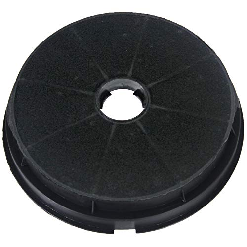 Spares2go Round Charcoal Vent Filter For Baumatic Oven Cooker Hoods