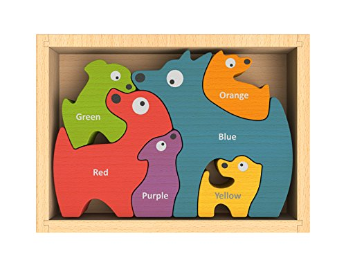 BeginAgain Dog Family Puzzle Curriculum product image