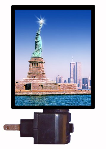 Patriotic Night Light - Twin Towers - New York LED NIGHT LIGHT
