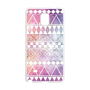 colour & pattern Case For Samsung Galaxy Note 4 White Nuktoe645896
