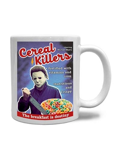 CANECA CEREAL KILLER MICHAEL MYERS