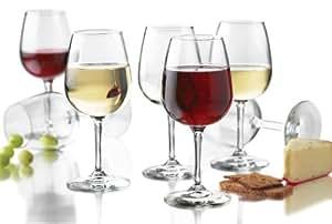 Libbey 12.5-Ounce Wine Party Glass, 12-Piece Set