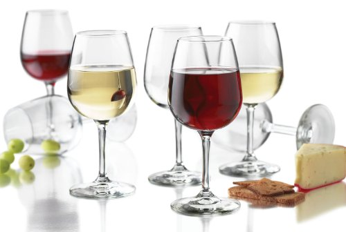 Libbey 12.5-Ounce Wine Party Glass, 12-Piece Set (Red And White Wine Glasses compare prices)