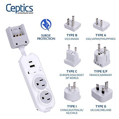 Travel Power Strip by Ceptics - Small