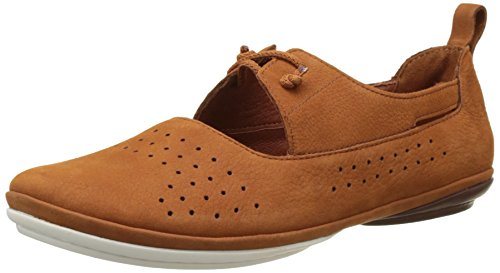 Scarpe Da Tennis Donna Nina Brogue Lace-up Marrone Chiaro (marrone Medio 001)
