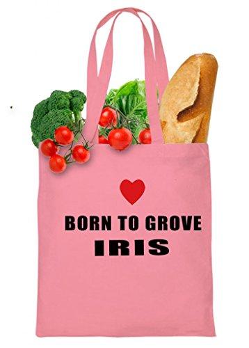 Born To Grove Iris Tote Bag