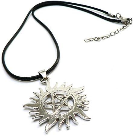Collar Estrella Plateada - Daren Supernatural: Amazon.es: Joyería