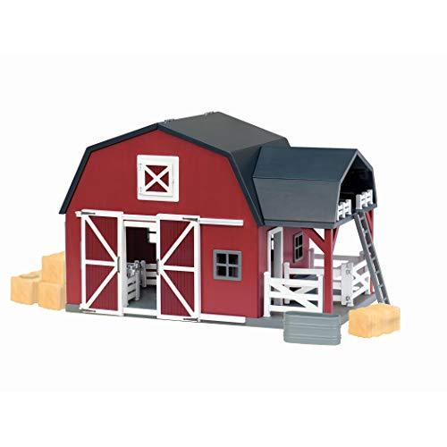 Battat Terra Wooden Animal Barn – Toy Barn Playset for ...