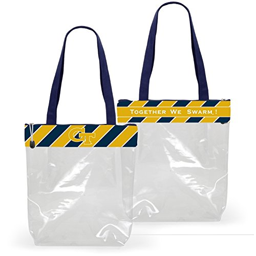 Clear Gameday Stadium Tote (Georgia Tech II) - Georgia Tech Tailgate