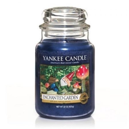 Used, Yankee Candle Enchanted Garden Large Jar Candle, Fresh for sale  Delivered anywhere in USA