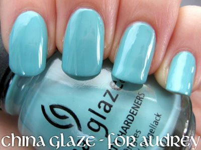 China Glaze: Pour Audrey, 0,5 oz