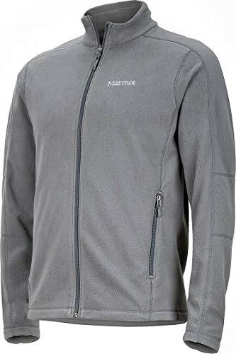 Marmot Ess Tech Jacket Full Zip Fleece Jacket, Variety (M, Gray) (Marmot Fleece Jacket)