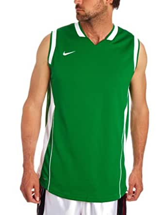 Nike Men's SLAM I I TANK (TALL) Basketball Dri-Fit Sleeveless T-Shirt S Green-white