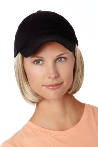 0a67c95dff6 Amazon.com   Henry Margu Hair Accents Short Hair with Baseball Cap Wig (30H  - AUBURN   FIRE RED HIGHLIGHTS)   Hair Replacement Wigs   Beauty
