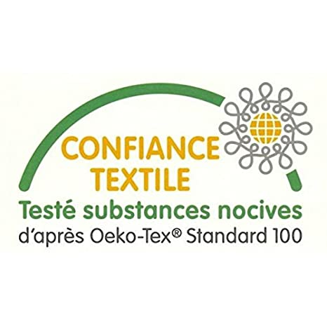 140x200 cm anti-acarien Maison de la Soie Housse de couette de luxe en jacquard de soie naturelle de m/ûrier anti-transpirant hypoallerg/énique