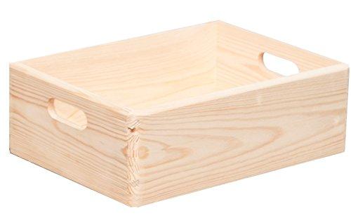 Allzweckkiste, FSC-Nadelholz, 40 x 30 x 15 cm - Qualität Made in Europe