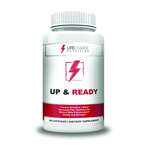 Natural Testosterone Booster – Supports Male Enhancement- Strength – Stamina & Vitality – Naturally Increase Testosterone – Get Up and Ready For Sale