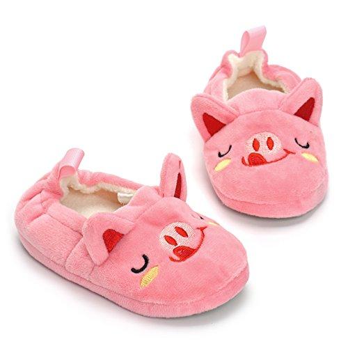 Image of Enteer Baby Girls' Pig Slipper