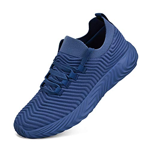 Feetmat Men's Sneakers Non Slip Shoes Ultra Lightweight Breathable Athletic Running Walking Gym Shoes