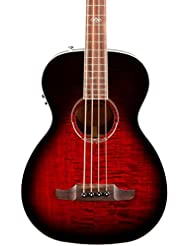 Fender T-Bucket 300 Acoustic Electric Bass Guitar, Rosewood F...