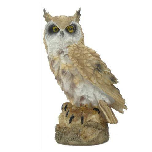 (URBANSEASONS Owl Decoration Statues, Garden Peeker Yard Art, Owl Knick-Knack for Interior Home Decor,7